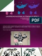 Presentacion El Stencil en El Diseño, Arte Urbano, Tecnica Africa Priscilla Vega Balboa