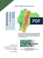 Cartografía Digital Ecuador Sep2012