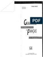 CLE International - Grammaire Progressive Du Francais Avec 400 Exercices - Niveau Avance.pdf