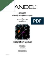 SN3500 82005 Im r Installation Manual