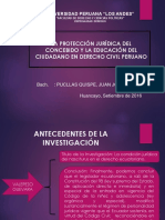 LA PROTECCIÓN JURÍDICA DEL CONCEBIDO Y LA EDUCACIÓN DEL CIUDADANO EN EL DERECHO CIVIL PERUANO.pptx