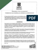 RESOLUCIÓN POR MEDIO DE LA CUAL SE DESARROLLA EL CONTENIDO DEL ACUERDO 652 DE 2016