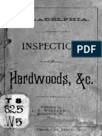 Inspection of Hardwoods 1889