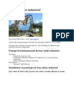 Le Four Solaire Industriel