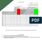 Hoja Excel para Hazid