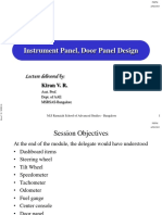 07 and 08_Instrument Panel and Door Panel Design (Ver.1)