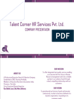 Talent Corner HR Services Pvt Ltd. Pune