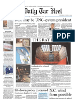 The Daily Tar Heel for August 26, 2010
