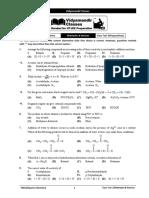 Class Test-1-Aldehydes & Ketones _Preparation