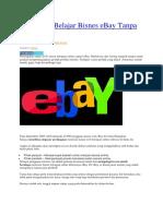 5 Panduan Belajar Bisnes EBay Tanpa Kos