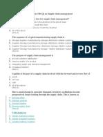 Multiple Choice Questions - Distrubution & Logistic