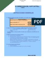 Test Psicologico - Catell16pf