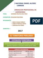 Division Politica Del Peru