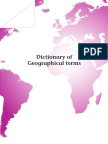 Dictionary of Geographical Terms