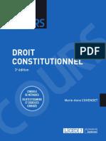 Lextenso étudiant - Droit constitutionnel (corrigé détaillé)
