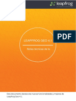 Leapfrog Geo 4.1 Release Notes ES