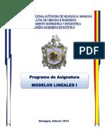 Modelos Lineales I 18feb2016