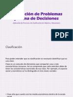 Proceso de Clasificación Comparación Semenjanza