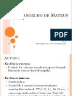 Evangelho de Mateus Online