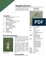 Shah Shuja (Mughal Prince) - Wikipedia
