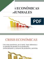 Crisis Económicas Mundiales