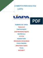 Orientacion Universitaria (Tarea 5)