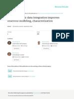 Static, Dynamic Data Integration Improves Reservoir Modeling, Characterization