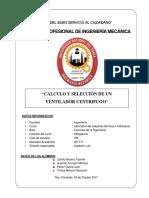 Cálculo y Selección de Un Ventilador Centrífugo (1)