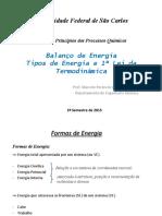 PPQ Aula 11 - Balanço de Energia-1a Lei