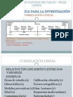 Correlación Lineal Expo