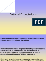 Lecture 9 Rational Expectations