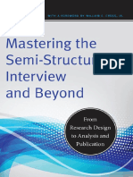 Mastering the Semi Structured Interview