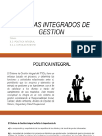 3.2 Sistemas Integrados de Gestion