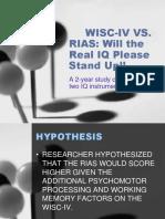RIAS-WISC-4-FASP
