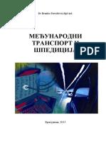 Medjunarodni transport i špedicija - B. Davidović.pdf