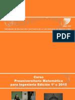 Modelo Presentación Curso Preuniversitario 2015 (Revisado) 6-5