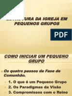 02 - Como Iniciar Um PG- Treinamento Pastores