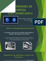 CONVERSIONES DE ENERGÍA ELECTROMECÁNICA