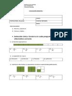 EVALUACIÓN semestre I sexto básico.docx