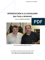 Introducción a La Cuchillería (Por Forja y Desbaste) Autor Marcelo San Pedro 1era Edición