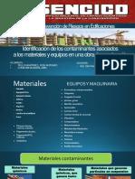 Identificación de Los Contaminantes Asociados a Los Materiales y Equipos- Tello y Condori