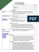 common and proper nouns lesson plan  copy