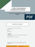 6. Opći Dio Statusnoga Trgovačkog Prava