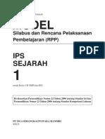 Model Silabus RPP Sejarah 1