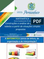 Construções e Análise de Gráficos e Tabelas a Partir de Situações Simples Propostas (1)