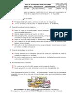 SSO - CRT - 22 -Tips de Seguridad Para Peatones