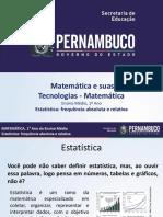 SLIDES - MATERIAL PARA EXPLICAR - 5º PERÍODO - ESTATÍSTICA.pptx