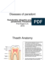 Diseases of Paradont
