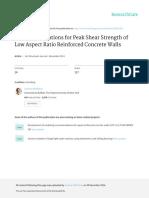 EmpiricalEquationsforPeakShearStrength GulecandWhittaker ACIStructuralJournal Vol108No.12011