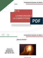 1.3. Innovacion Tecnologica y Competitividad
